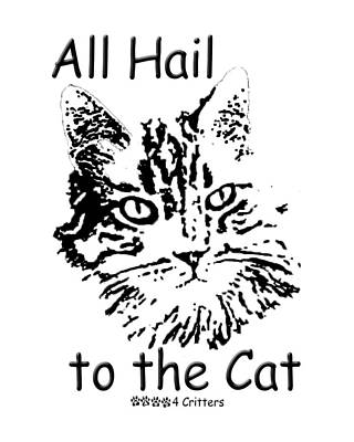 Photograph - All Hail To The Cat by Robyn Stacey