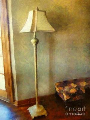 Comfort Painting - All In The Golden Afternoon by RC deWinter