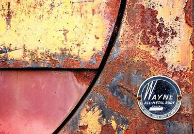 Oxidation Photograph - All-metal Body by Jim Hughes