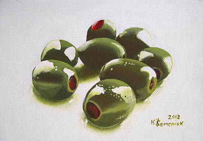 Pepper Painting - All Of The Olives by Kayleigh Semeniuk