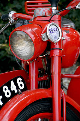 Photograph - All Original English Motorcycle by Bob Slitzan