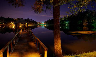 Photograph - All Quiet At Lake Midnight  by Walter  Holland