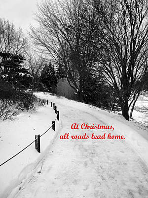 Photograph - All Roads Lead Home by David Bearden