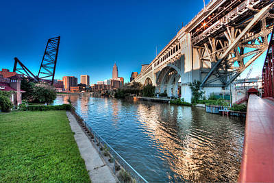 Photograph - All Roads Lead To Cleveland by John Magyar Photography