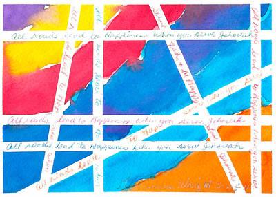 All Roads Art Print by Ramona Wright