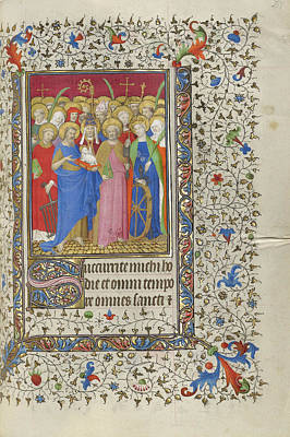 1420 Painting - All Saints Workshop Of The Boucicaut Master, French, Active by Litz Collection