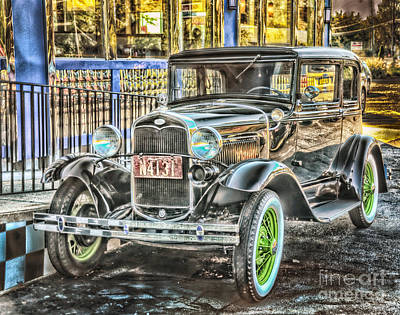 Shiney Photograph - All Shined Up by Arnie Goldstein