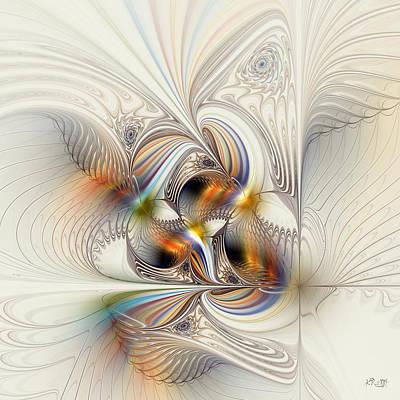 Kim Digital Art - All Shook Up by Kim Redd