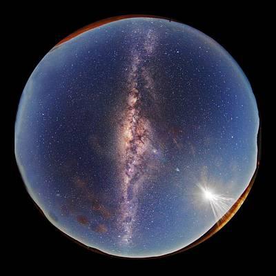 All-sky Milky Way View Print by Juan Carlos Casado (starryearth.com)