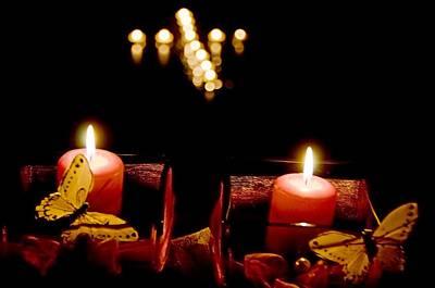 All-souls-day-candles Original by Elzbieta Fazel