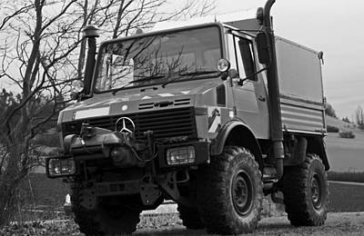 Photograph - All Terrain Unimog by Miguel Winterpacht