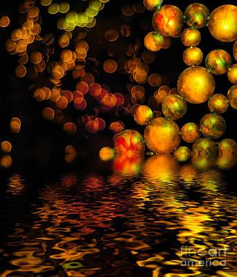 All That Glitters Is Gold Art Print