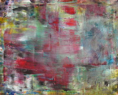 Contemplative Painting - All That Is Left by Kathy Stiber