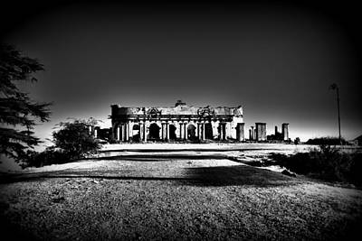 Photograph - Mysterious Ruins by Salman Ravish