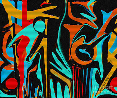 All That Jazz Art Print by Sherri's Of Palm Springs