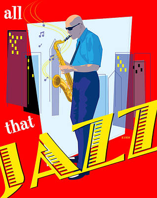 All That Jazz Art Print by Timothy Ramos
