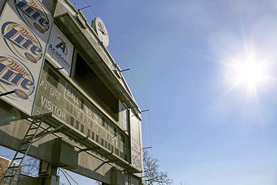 Photograph - All That Remains Of Ray Winder Field by Jason Politte