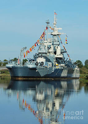 Photograph - All The Colors On The Battleship by Bob Sample