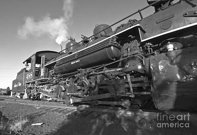 Locamotive Photograph - All The Live-long Day by Robert Frederick