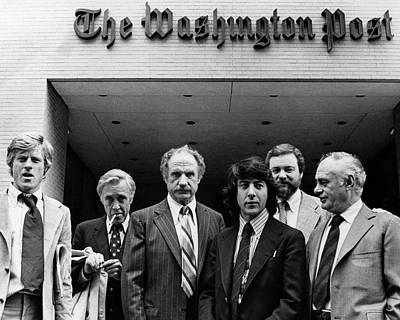 Warden Photograph - All The President's Men  by Silver Screen
