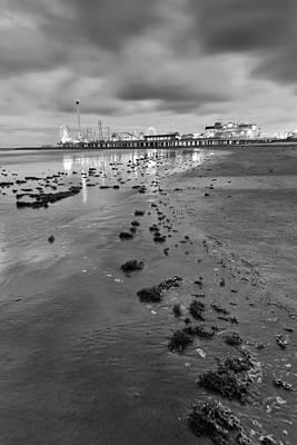 Photograph - All The Roads Lead To The Pleasure Pier by Silvio Ligutti