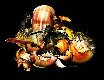 Ice-t Digital Art - All The Seven Deadly Sins Are Mans True Nature by Sir Josef - Social Critic -  Maha Art