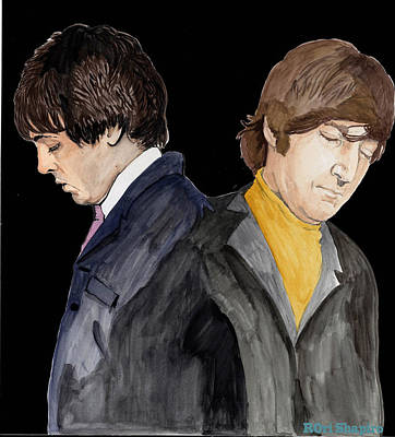 Mccartney Drawing - All The Space Between Us by Rori Shapiro