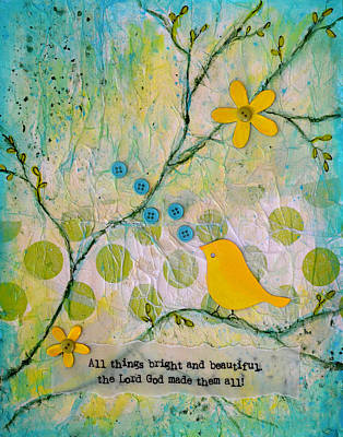 Painting - All Things Bright And Beautiful by Carla Parris