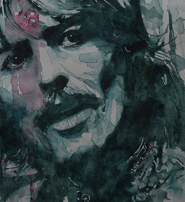George Harrison Painting - All Things Must Pass      @2 by Paul Lovering