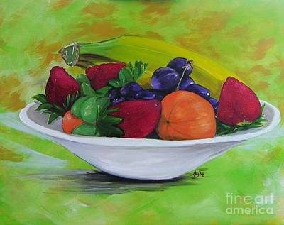 Painting - All Things Sweet I by Barbara Hayes