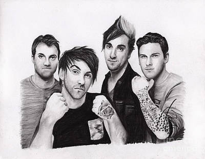 Drawing - All Time Low 2 by Rosalinda Markle