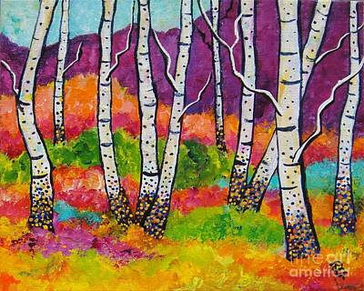 Painting - All Together Now by Deborah Glasgow