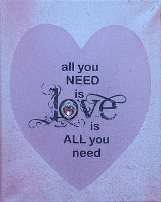 Stellar Interstellar - All you need is love  by Catt Kyriacou