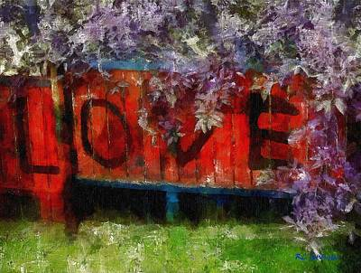 All You Need Is... Print by RC deWinter