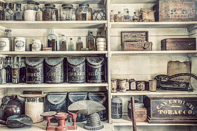 All You Need - The General Store Art Print by Gary Heller