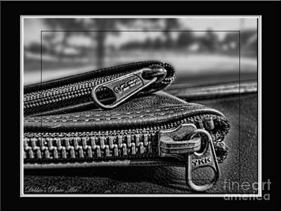 Photograph - All Zipped Up II  by Debbie Portwood