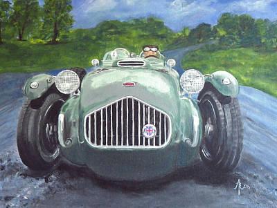 Painting - Allard J2x by Anna Ruzsan