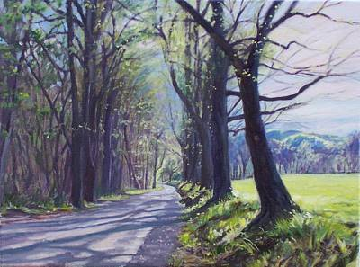 Old Country Roads Painting - Alleghany Spring by Bonnie Mason