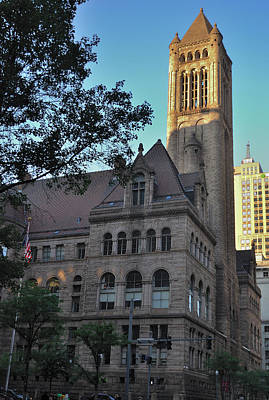 Photograph - Allegheny County Courthouse by Steven Richman