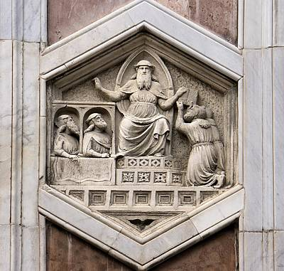 Zeus Photograph - Allegorical Depiction Of Legislation by Sheila Terry