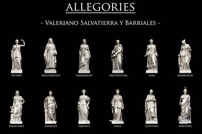 Allegory Photograph - Allegories by Fabrizio Troiani