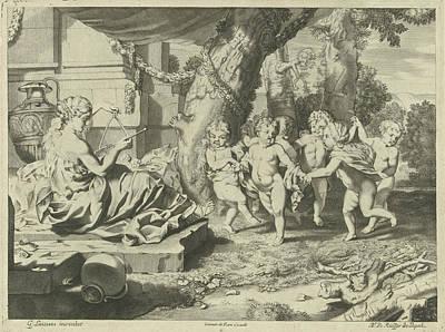 Allegory Of Music, Nicaise De Ruyter, Johannes De Ram Art Print