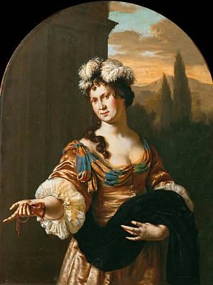 Pride Painting - Allegory Of Pride by Willem van Mieris