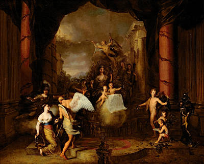 Allegory Of The City Of Amsterdam Art Print by Gerard de Lairesse