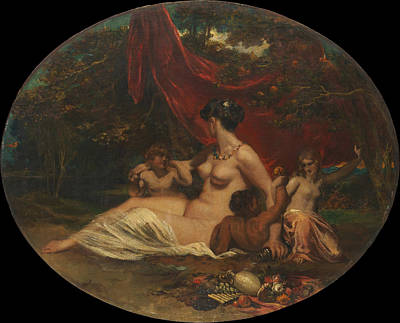 Allegory Print by William Etty