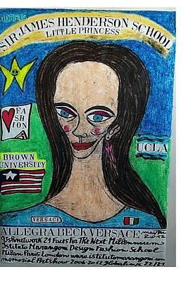 Allegra Beck Versace Original