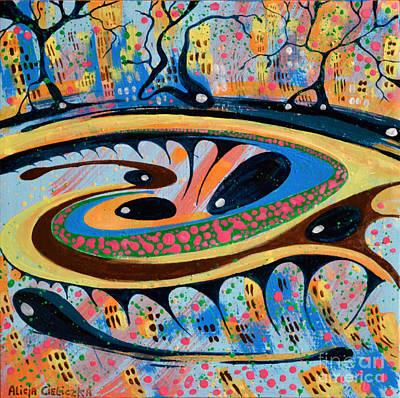 Painting - Allegria by Alice Alicja Cieliczka