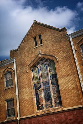 Allen Chapel Ame Church Fort Worth Print by Joan Carroll