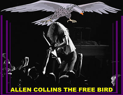 Photograph - A C  The Free Bird by Ben Upham