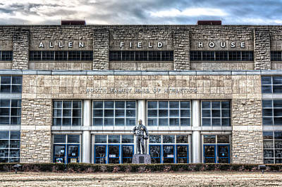 Georgetown Photograph - Allen Field House by Corey Cassaw